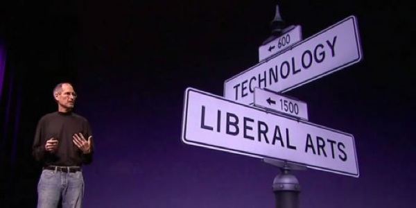 Steve Jobs and the intersection of technology and the liberal arts