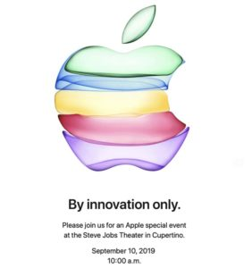 "Apple Event Invitation: ""By Innovation Only"""
