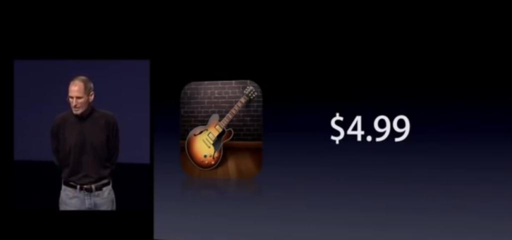 GarageBand for iPad's launch price