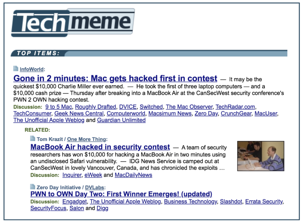 Hacking a Mac made headlines