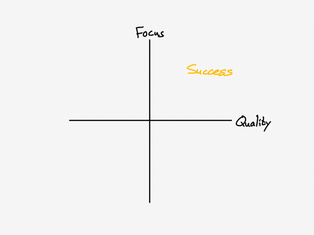 Focus and quality as the determinants of success on the Internet