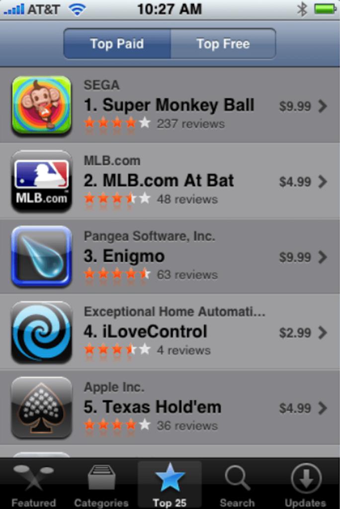 The original App Store